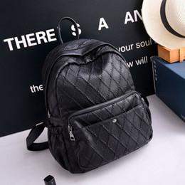 $enCountryForm.capitalKeyWord Canada - South Korea wind winter 2017 large capacity backpack fashion leather stitch backpack campus leisure bag