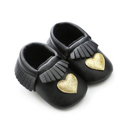 46fe87057cf 0-18M Baby Girls PU Shoes Baptism Wedding Party Shoes Kids First Walker  Sneakers girls baptism shoes on sale