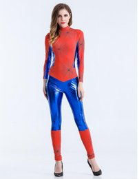 Sexy Anime Costumes For Women UK - adult women christmas jumpsuit sexy halloween costumes for ladies anime cosplay clothes wholesale girl festival party cosplay dress
