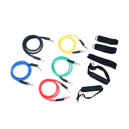$enCountryForm.capitalKeyWord Canada - 5 Latex Men And Women Pull Rope Resistance Bands Exercise Tube Workout Gym Yoga Fitness Stretch Abs