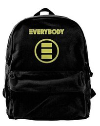 $enCountryForm.capitalKeyWord Canada - Logic Everybody Popular Canvas Backpack Unique Backpack For Men & Women Teens College Travel Daypack Black