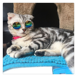Discount toy goggles - Fashion Cool Cat Glasses Pet Dog Eye Protection Sunglasses Kitty Puppy Photo Props Toy Hot Sale