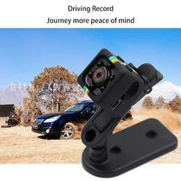Wholesale Automobile recorder night vision infrared surveillance mini video camera