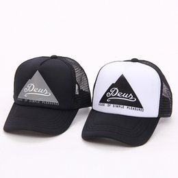 0205edba09e Letter Embroider Ball Cap Deus Letter Printed Outdoor Sports Skateboard Baseball  Hat Snapbacks Adjustable Ball Caps 2 Colors OOA5031