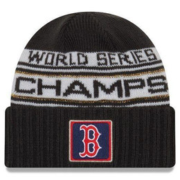 Ingrosso New Boston SERIES CHAMPIONS Winter Beanie WS Sideline Cold Weather Sport Knit Hat regolabile snapback calcio baseball Cap Drop libero