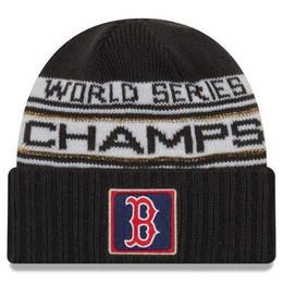 Nueva serie Boston CAMPEONES Gorro de invierno WS Sideline Clima frío  Sombrero de punto ajustable snapback 4652a3c09ef