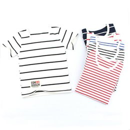 $enCountryForm.capitalKeyWord Canada - 2017 Summer Striped Kids T -Shirts Baby Girls Short Sleeve Boys Tees Cotton Children T Shirts For Girl Child Kids Tshirts 2 -8t