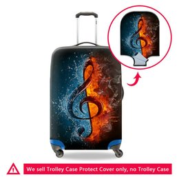 9d2fb0bda Travel On Road Luggage Protective Cover For 18 20 22 24 26 28 30 Inch Case  For A Suitcase Waterproof Dust Rain Covers Men Travel Accessories