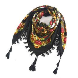 nuova vendita calda OCQBI moda decorativa sciarpa handmade nappa fiore  design sciarpe coperta scialle fazzoletto per le donne 1368f583163f