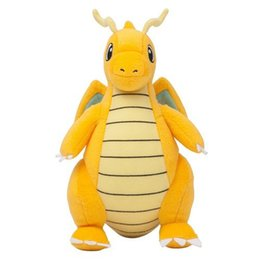 Peluche Plush toy online shopping - Cartoon Plush Toy Dragonite quot Cute Collectible Soft Pikachu Charizard Stuffed Animal Doll Peluche For Children Gift