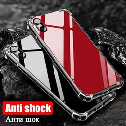 $enCountryForm.capitalKeyWord NZ - 2018 Air Cushion Super Anti-knock Soft TPU Mirror Case Transparent Clear cell Phone Cover Shockproof Cases For iPhone X 6 6s 7 8 plus