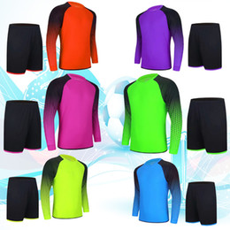 $enCountryForm.capitalKeyWord Canada - 2018 new goalkeeper's high quality clothing trousers suit men and long - sleeved clothing goalkeeper into the goal 8 color, customizable nam