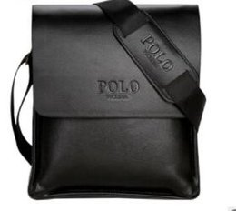 Polo Business NZ - Wholesale- In 2017 POLO Famous Brand Classic Design Leather Mens Messenger Bags Promotional Casual Business Man Bags Shoulder Bag Briefcase