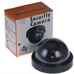 Security dome camera online shopping - Simulation Camera Simulated Security video Surveillance Fake Dummy Ir Led Dome Camera Signal Generator Santa Security Supplies YW1506