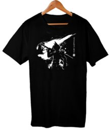 China Gaming Ex Soldier Cloud Strife Final Fantasy 7 Game Geek Men's T-Shirt 100% cotton Cool Tops Men'S Short Sleeve Funny Top Tee suppliers