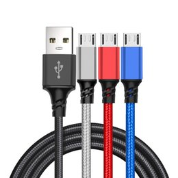 Cloth braided online shopping - Fast Speed Type c Micro pin Usb Cable Alloy Braided Fabric Cloth usb data charger cables wire for samsung s7 s8 s9 note htc android phone