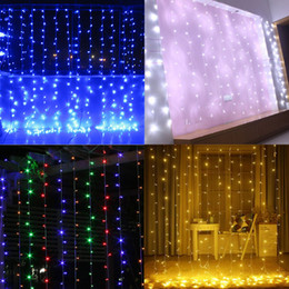 Wholesale led christmas lights outdoor nz buy new wholesale led new 4m x 3m 400 led outdoor home christmas decorative xmas string fairy curtain garlands strip party lights for wedding 10pcs lot aloadofball Gallery