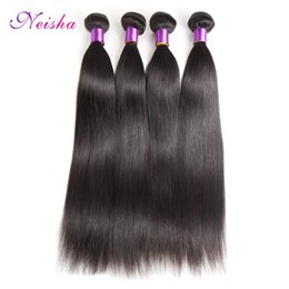 $enCountryForm.capitalKeyWord UK - Good Cheap Virgin Hair 4 Bundles Malaysian Straight Hair Weave 100% Unprocessed Virgin Straight Human Hair Weave Bundles