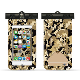 $enCountryForm.capitalKeyWord NZ - Hot Camouflage Universal Cover Waterproof Phone Case For iPhone X 7 6 Samsung Coque Pouch Waterproof Bag Case Swim Waterproof Case