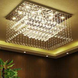$enCountryForm.capitalKeyWord NZ - Restaurant diamond-shaped hanging line crystal bar table lamp. Ceiling rectangular living room lighting. LED3 color light. k9 crystal. Stain