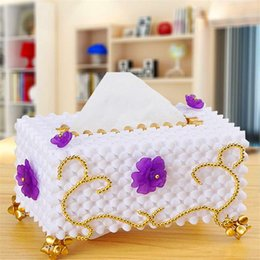 bead room Canada - 2018 new European Home Furnishing box box beads study the living room decoration products