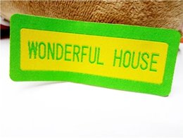 Fabric Adhesive Labels Canada | Best Selling Fabric Adhesive Labels
