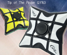 Toys Finger Australia - 2018 New Fingertip gyroscope Cube Concave Finger Cube Rotation Deformation Child Adult Decompression Strange New toy