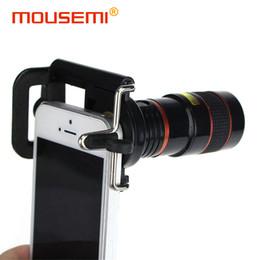 $enCountryForm.capitalKeyWord NZ - YAMIZOO Universal Clip 8x Mobile Telephone Lens Optical Zoom Lens Cell Phone Telescope Camera Lens For iPhone Smartphone Lenses