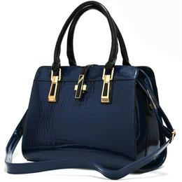 $enCountryForm.capitalKeyWord Australia - 2018 Bags for Ladies Concise Leisure Fashion Handbags Solid Color Wine Red Rose Navy Blue Black White Crossbody Totes