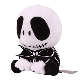 Chinese  2018 NEWEST The Nightmare Before Christmas Jack Skellington Poseable Plush Doll manufacturers