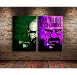 framed mural painting Australia - Breaking Bad , 2P Canvas Painting Living Room Home Decor Modern Mural Art Oil Painting