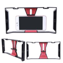 Hands Free Phone Holder Australia - Adjustable Handheld Phone Camera Video Stabilizer Holder Frame Rig Grip Mount