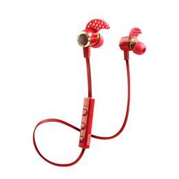 Wireless Headphones Mic Blue Australia - Kin-88 for apple headphones 4.1 Deep Bass headphones Wireless in Ear Metal Sport Music bluetooth headphones with Mic