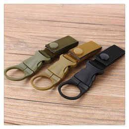 $enCountryForm.capitalKeyWord UK - Outdoor Key Holder Backpack Hanger Nylon Webbing Buckle Hook Water Bottle Holder Clip EDC Climb Carabiner Clip Belt Backpack Hanger Camp DHL