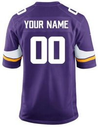 Personalized american football jerseys custom Chicago Detroit Bears Lions  Vikings Packers Vapor Untouchable color rush jersey 6XL 7XL 4xl 6cf4cb1b2