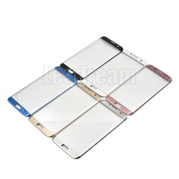 $enCountryForm.capitalKeyWord Canada - OEM Front Outer Touch Screen Glass Lens Replacement for Samsung Galaxy S6 Edge Plus G9280 S7 edge G9300 free DHL