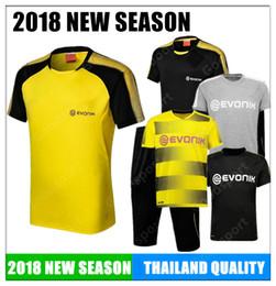$enCountryForm.capitalKeyWord Canada - 2018 new short sleeve Training KITS outfits Tracksuits Dort AUBAMEYANG GOTZE DEMBELE PULISIC REUS MOR SAHIN calcio fútbol cheap sports