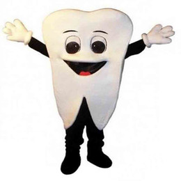 tooth fancy dress costume NZ - 2018 Discount factory sale Tooth Mascot Costume Halloween Fancy Dress Free Shipping Adult Size For Festival advertising