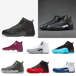 0863d1925e7398 Discount ovo shoes - 2018 NEW shoes 12s Mens basketball shoes wool ovo  white gym red