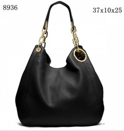Double hanDbags online shopping - Hot Women handbags MICHAEL KEN luxury double zippers women famous brand designer bags PU leather chain shoulder bag