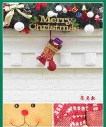 $enCountryForm.capitalKeyWord Australia - Christmas 3D Decorative Socks Candy Gift Bag, Snowman Gift Card Silverware Holders Mini Christmas Stockings Xmas Tree Decorations