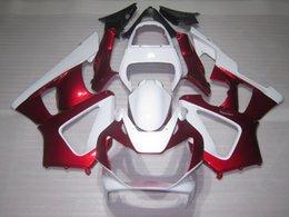 Honda Cbr929 Australia - Hot sale fairings for Honda CBR900RR CBR929 2000 2001 white red fairing kit CBR929RR00 01 QR47
