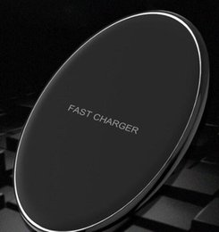 $enCountryForm.capitalKeyWord NZ - GY-68 Wireless Charger For Galaxy S8 S7 S6 Ultra Thin Qi Fast Charger With Metal Edge Qi Wireless charger Pad OTH684 hot sale.