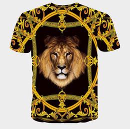 2018 Summer Hot Sale Men's 3DT Shirts Cotton Leisure Gothic Wedding Wind Print Sleeve Men's Shirts
