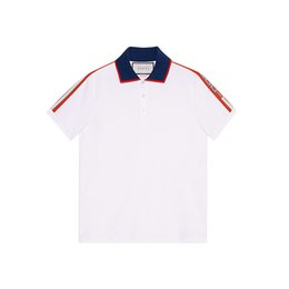 Italie designer de luxe Brand New automne hommes polo shirt t-shirts serpent bee broderie High street mens polos mode rayure polo
