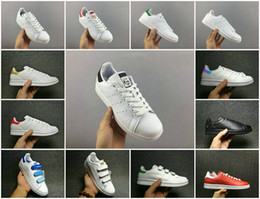 All stAr cAnvAs shoes online shopping - Top Quality Originals Superstar Stan Smith Men Women Running Shoes All White Black Red Green Super Star Stansmith Casual Shoes