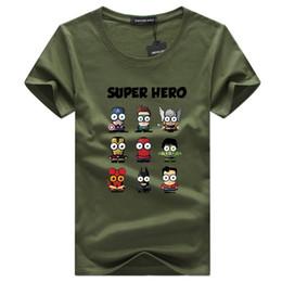 Hero Bands Canada - Summer 2018 Band Heroes T Shirt Men Cotton Short Sleeve T-shirt Casual tshirt Summer Men T shirts Tee Tops