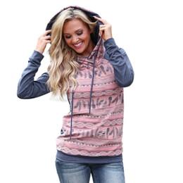 Top Hoody Women NZ - 2017 Womens Long Sleeve Print Hoodie Sweatshirt Hooded Pullover Tops hoody sweatshirt for women and hoodies for women