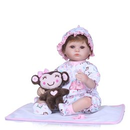 Chinese  Lifelike Full Silicone Reborn Baby Girl Dolls for Sale Simulation Ethnic Reborn Babies with Doll Clothes For Birthday Gifts manufacturers