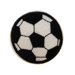 006a73771 Embroidered Sewing Iron On Football Patches Sport Soccer Badge For Bag  Jeans Hat Appliques DIY Sticker Cool Cute Decoration